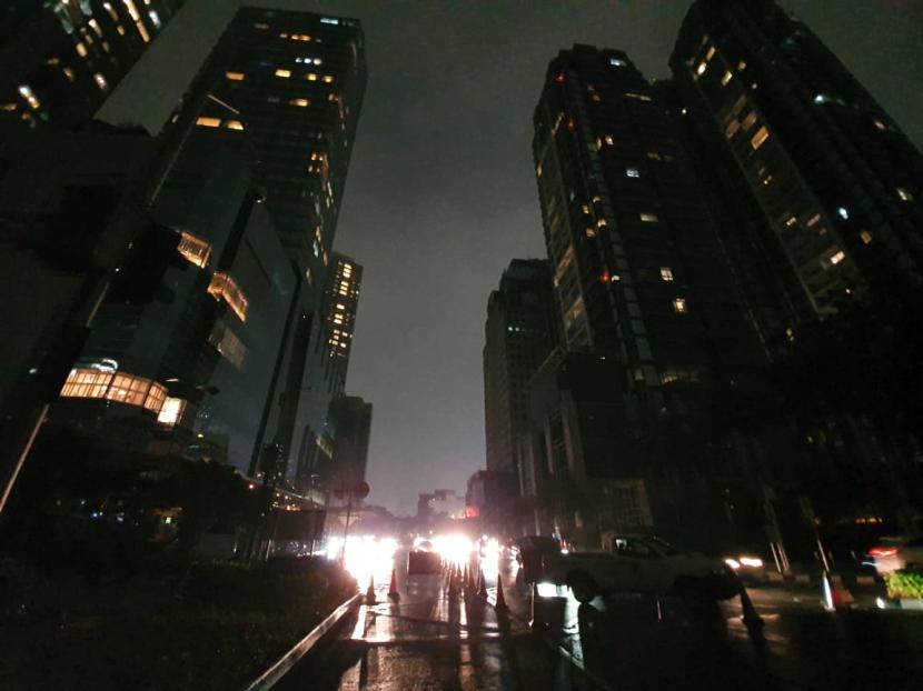 Pembatasan di Jakarta Selatan ditengarai karena pelanggaran prokes. Ilustrasi kawasan Jakarta Selatan