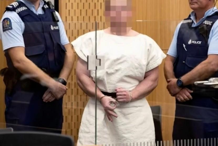 Salah satu terduga pelaku teror di Selandia Baru berhasil diringkus pihak keamanan