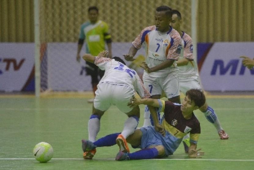 Salah satu turnamen futsal di Jakarta.