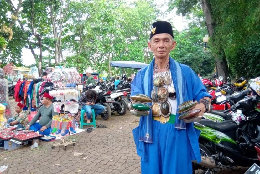 Salah satu Warga Betawi di wilayah Setu Babakan.
