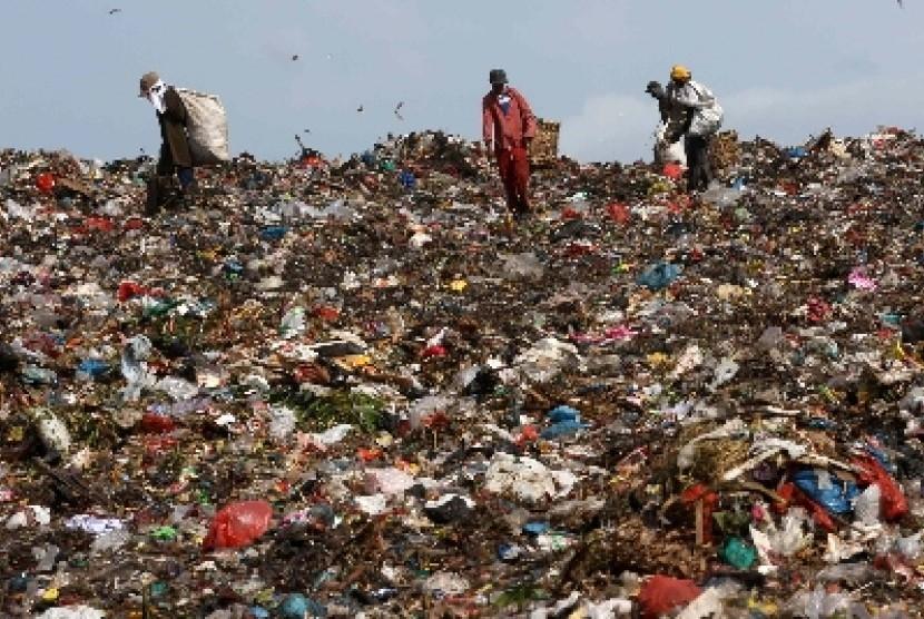 Sampah (ilustrasi)