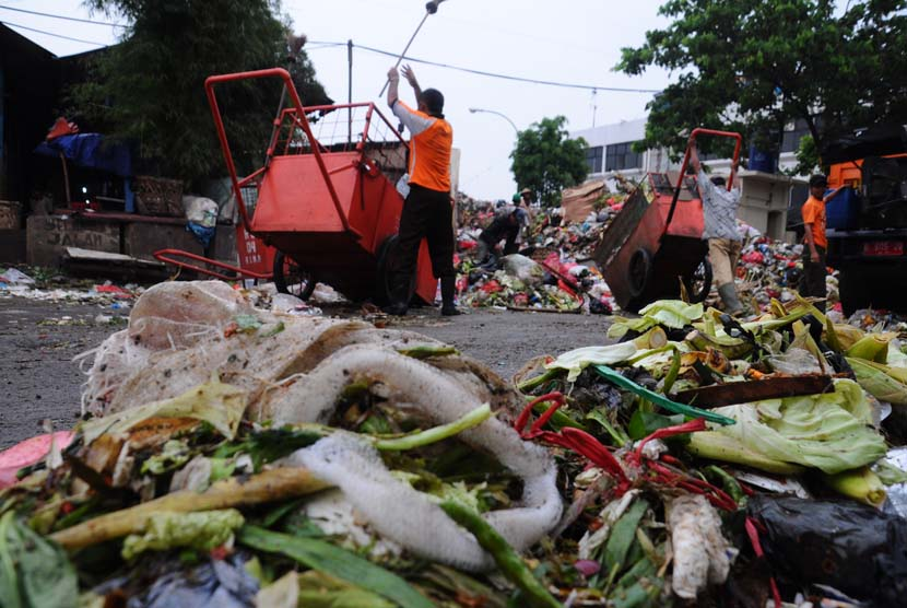Sampah pasar / Ilustrasi (foto : MgROL34)