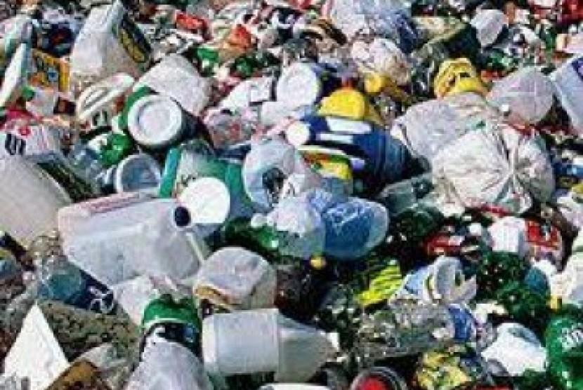 Sampah plastik, ilustrasi