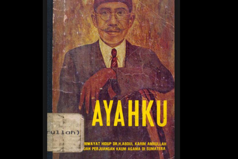 Sampul buku 'Ayahku' karangan Buya Hamka