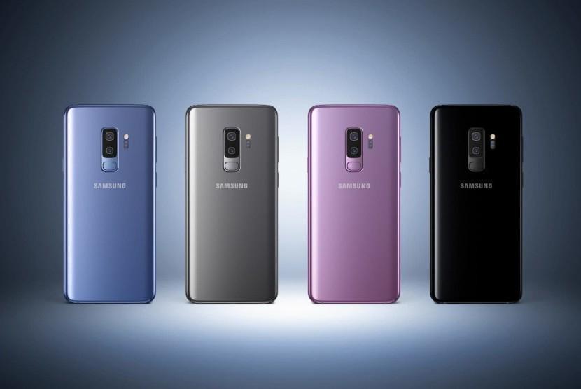 Samsung Galaxy S9. Ilustrasi