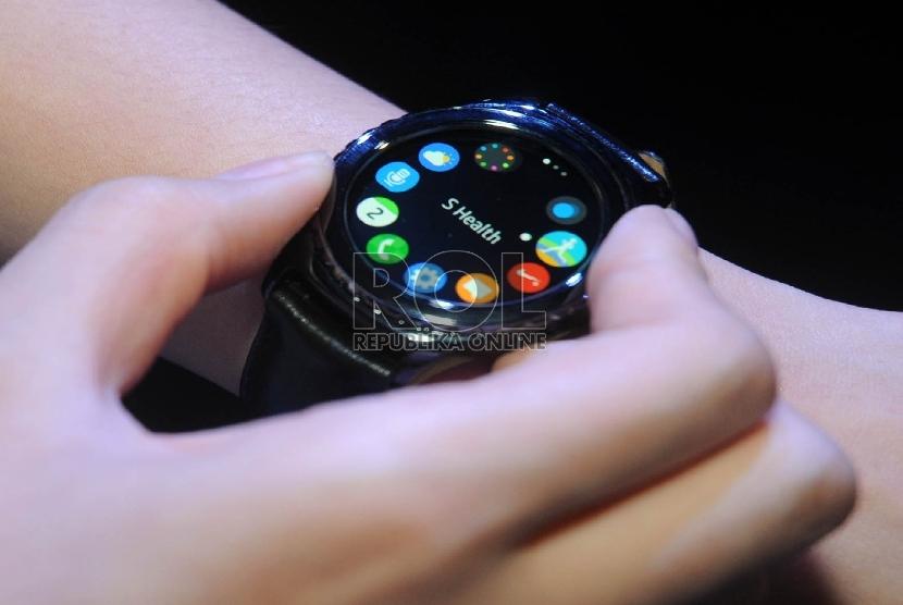 ilustrasi jam tangan pintar.