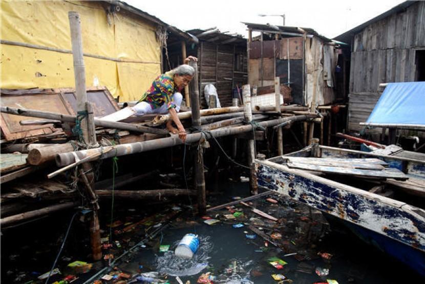 Sanitasi buruk (ilustrasi)