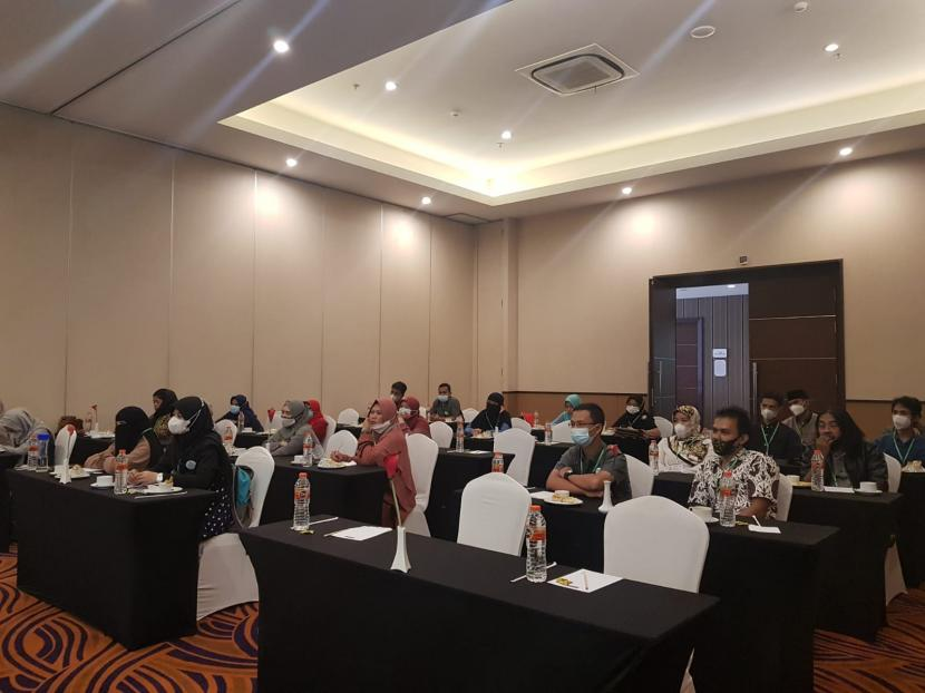 Santripreneur Indonesia mengadakan pelatihan business plan yang diikuti pada pelaku UMKM di Sukabumi dan sekitarnya, Kamis (21/10).