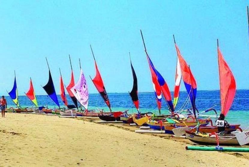 Suasana Sanur Village Festival beberapa tahun yang lalu.