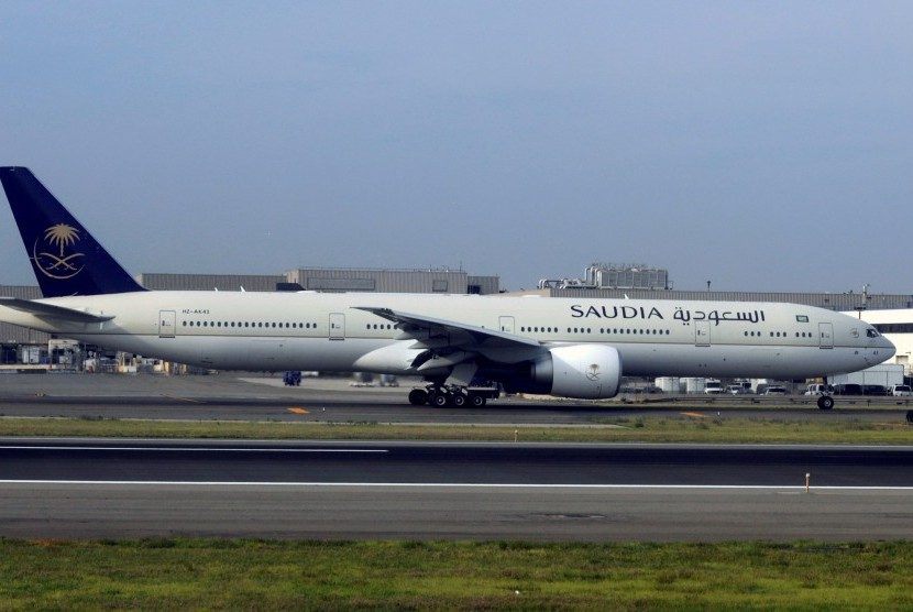 Saudi Arabian Airlines.