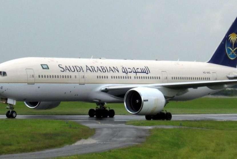 Pemulangan Jamaah Haji, Jumlah Penerbangan Ditambah. Foto:  Saudi Arabian Airlines