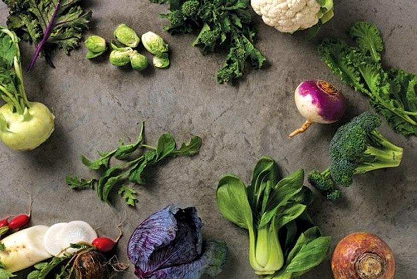 Sayuran cruciferous.
