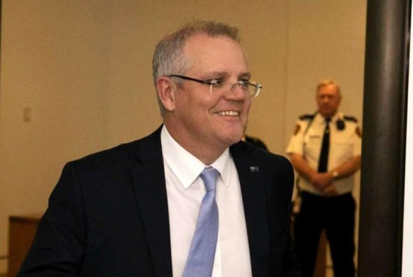 Scott Morrison sekarang menjadi perdana menteri australia yang baru menggantikan Malcolm Turnbull.