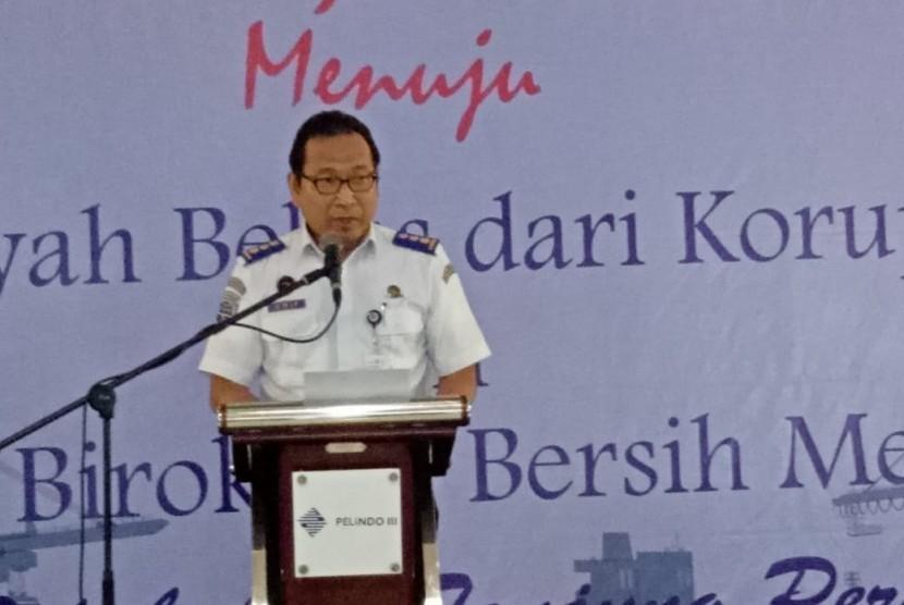 Sebanyak 13 Institusi di Kawasan Pelabuhan Tanjung Perak komitmen bersama bangun zona integritas bebas korupsi.