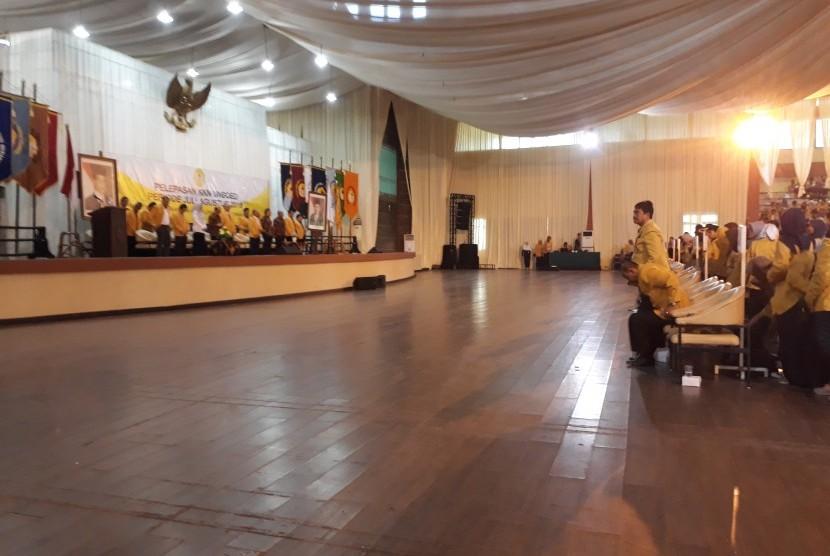 Sebanyak 2.760 mahasiswa Universitas Jenderal Soedirman (Unsoed) yang akan melakukan KKN dilakukan pelepasan secara resmi, Rabu (18/7