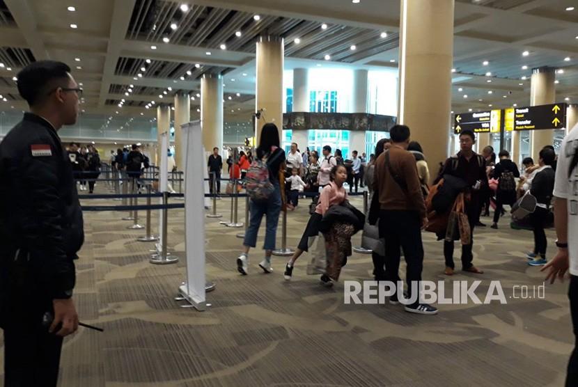 Passengers arrive at I Gusti Ngurah Rai International Airport, Denpasar, Bali. (File photo)