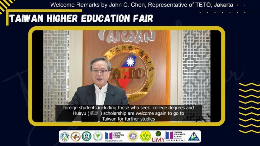 Sebanyak 63 universitas Taiwan berpartisipasi dalam pameran pendidikan 2021 Taiwan Higher Education Fair (THEF) yang digelar sejak Senin (27/9).