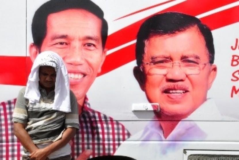 Sebuah kampanye politik di tempat pengungsian Sinabung (ilustrasi)