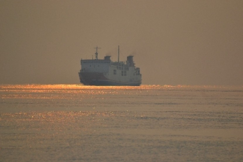 Kapal ferry  milik PT ASDP Indonesia Ferry