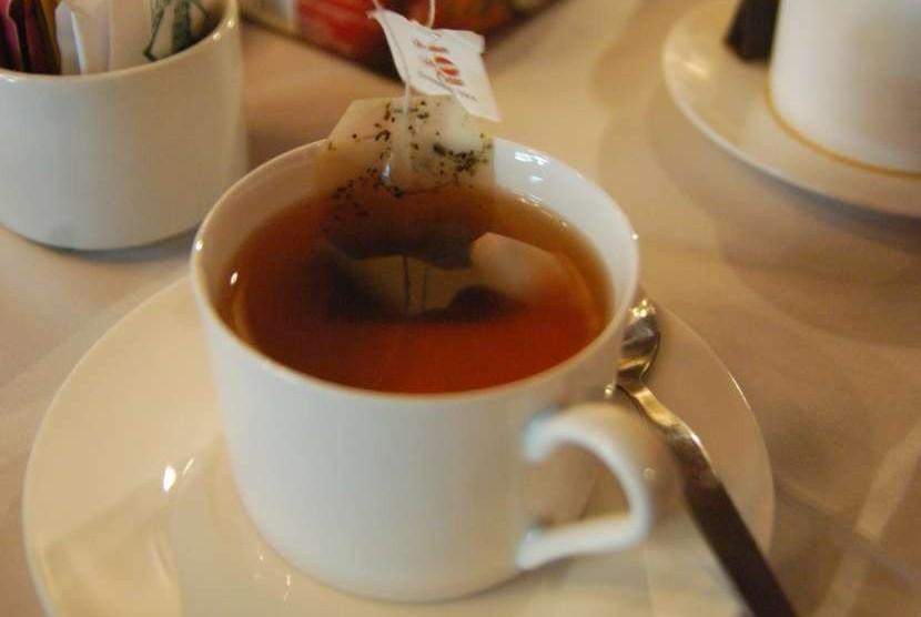Secangkir teh.