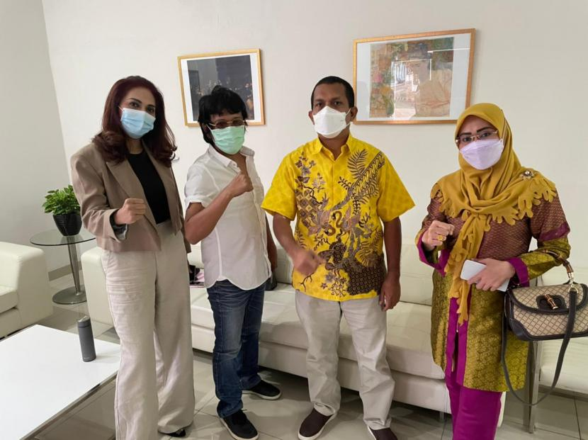 Sejumlah Anggota DPR telah resmi menerima suntikan dendritik imunologi atau Vaksin Nusatara, Kamis (22/4).