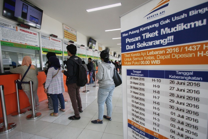 Tiket Kereta Lebaran Tambahan Dijual Mulai Besok Republika Online