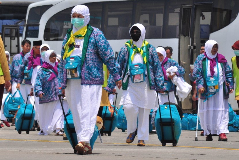 Sejumlah calon jamaah haji (ilustrasi)