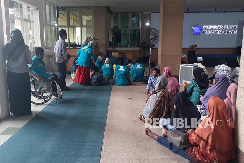 Sejumlah kegiatan peringatan Hari Disabilitas Internasional yang  digelar Majelis Pemberdayaan Masyarakat (MPM) PP Muhammadiyah di Kantor PP  Muhammadiyah, Ahad (9/12).