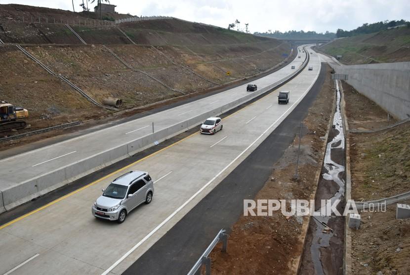 Tol Salatiga-Kartasura di Susukan, Kabupaten Semarang, Jawa Tengah.