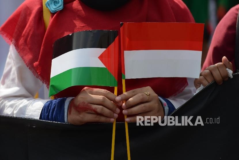 Aksi donasi untuk Palestina (ilustrasi)