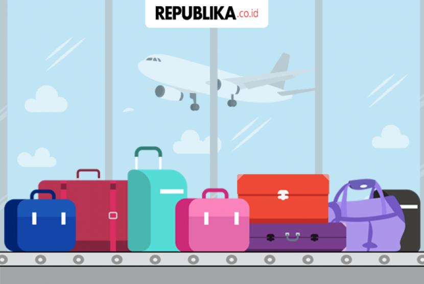 Sejumlah maskapai memberlakukan tarif bagi bagasi penumpang.