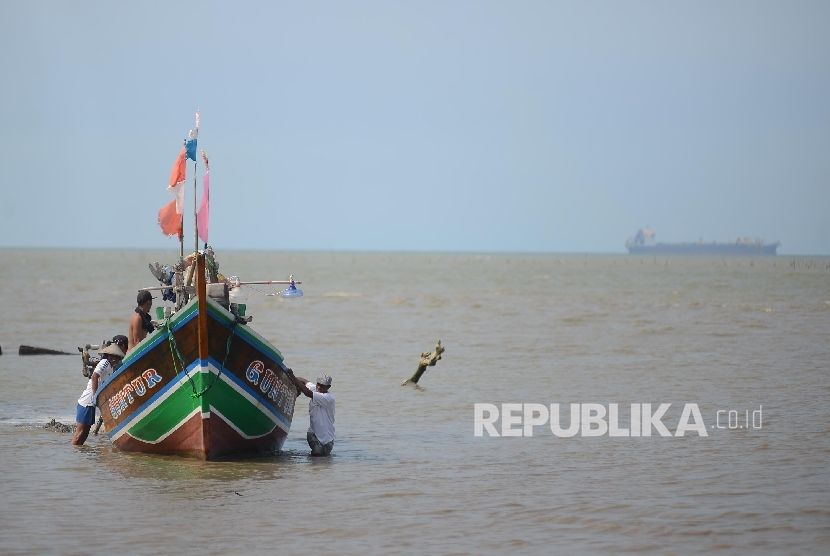Nelayan tradisional (ilustrasi)