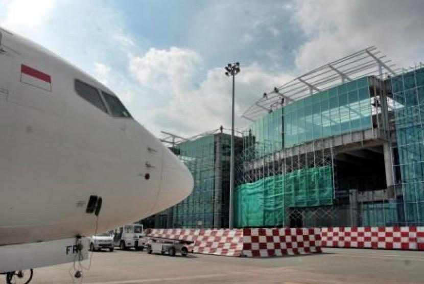 Sepinggan Airport, Balikpapan, East Kalimantan.
