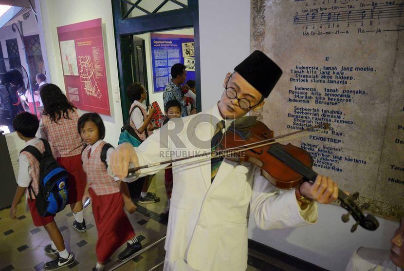 Di Gedung Ini Lagu Indonesia Raya Pertama Kali Berkumandang Republika Online