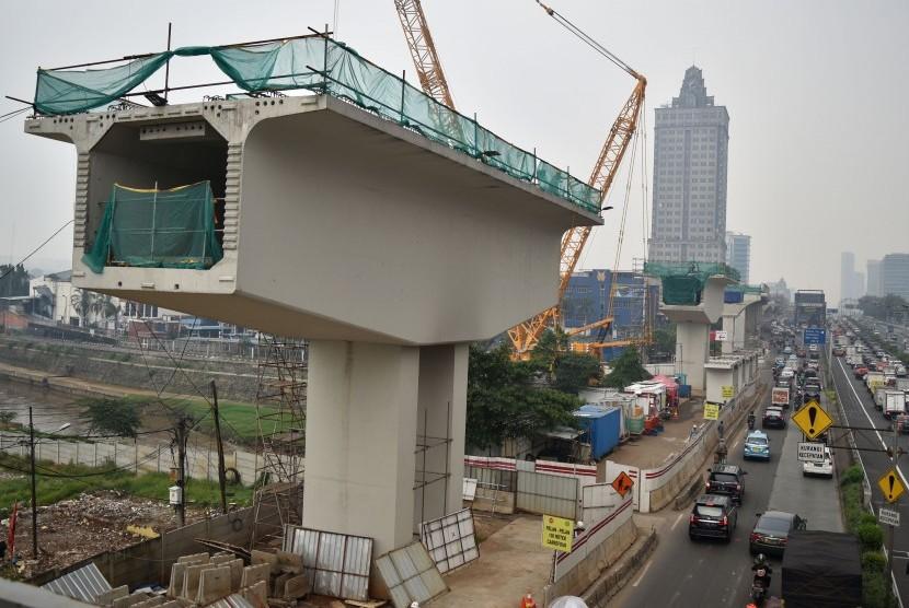Proyek LRT di Bekasi Tersendat | Republika Online