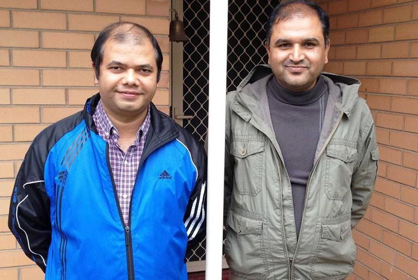 Sejumlah pengungsi asal Bhutan, seperti Kamal Dahal dan Laxmi Dahal, membeli rumah mereka lewat perusahaan HomeStart.