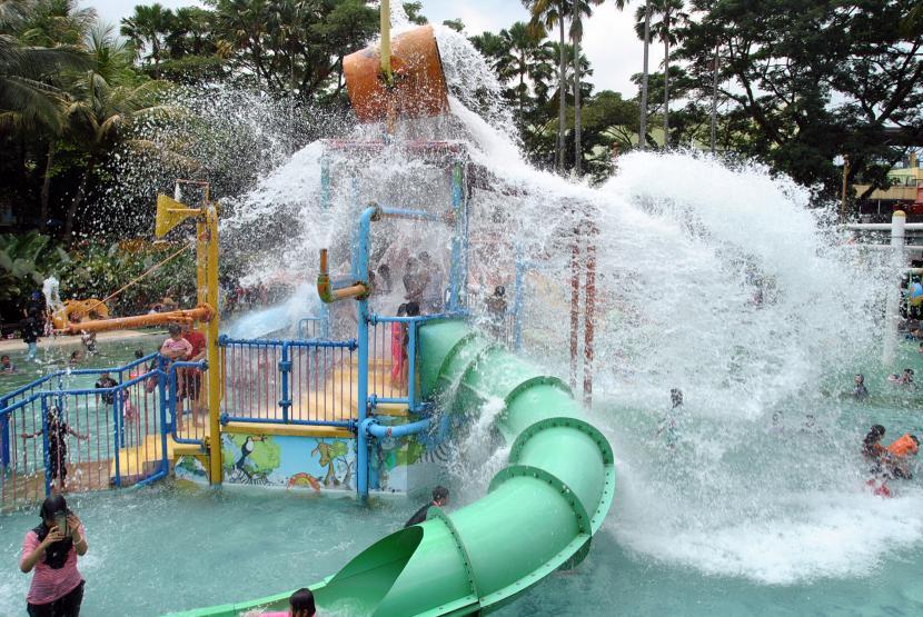 Temanggung Tutup Pikatan Water Park pada Libur Lebaran (ilustrasi).