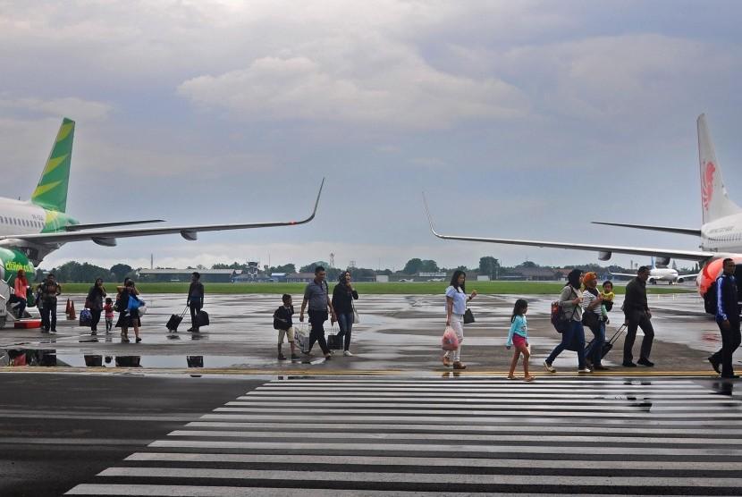 Penerbangan Rute Solo Jakarta Via Halim Kembali Normal Republika Online