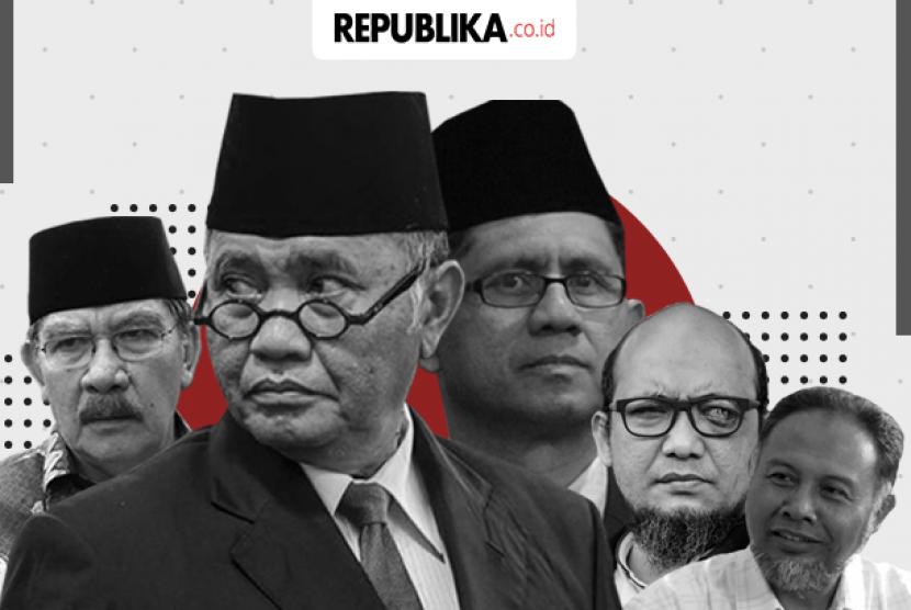 Sejumlah pimpinan dan penyidik KPK yang pernah diteror (ilustrasi).