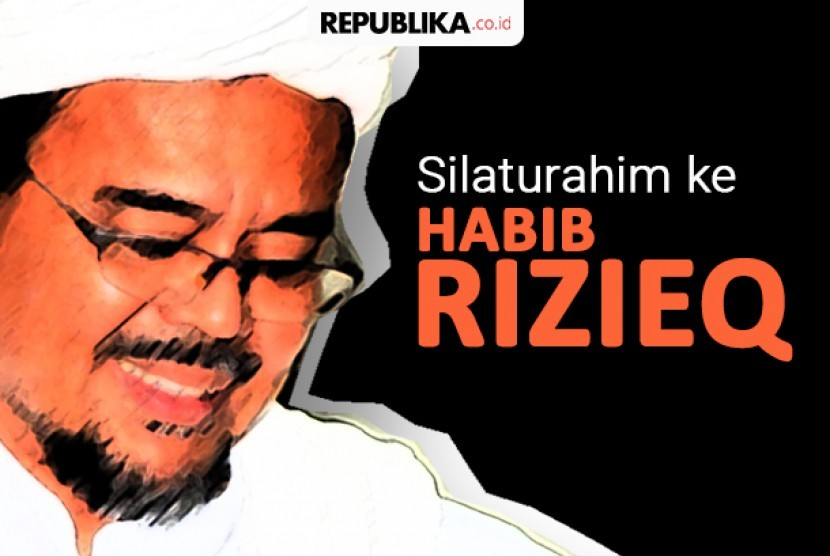 Sejumlah politisi bersilaturahim ke Habib Rizieq di Makkah.