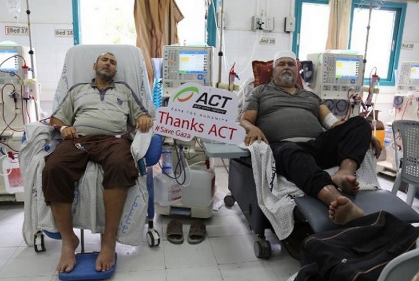 Sejumlah rumah sakit di Gaza terancam berenti beroperasi karena kekurangan suplai listrik.