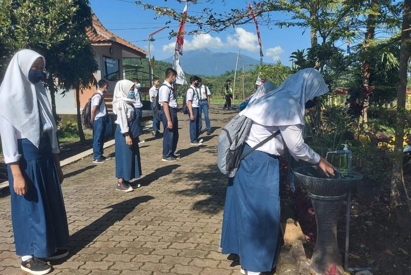 Belajar Tatap Muka di Semarang Tunggu Perkembangan Covid-19 (ilustrasi).