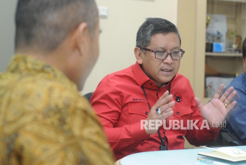 Sekertaris Jendral PDIP Hasto Kristiyanto