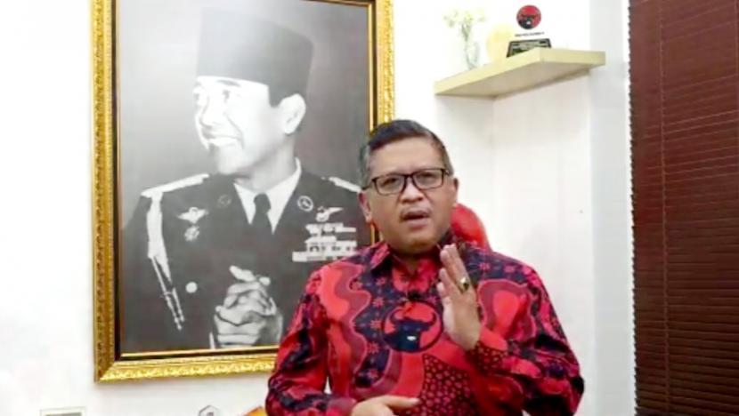 Sekjen DPP PDIP Hasto Kristiyanto.