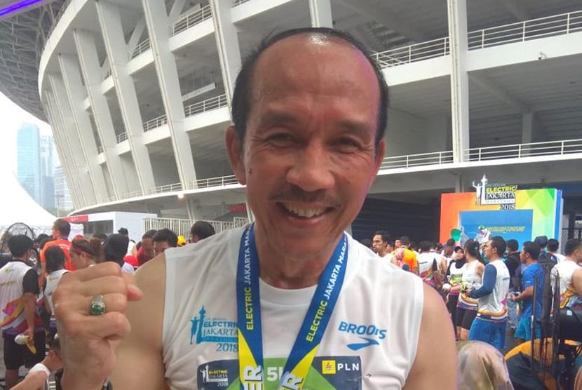 Sekjen INASGOC,Eris Herryanto, ikut lomba lari Electric Jakarta Marathon 2018. Penerbang pertama pesawat tempur F15 ini ikut di jarak 5 km. Lomba digelar Ahad (28/10) yang di mulai dan berakhir. Dikawasan GBK Senayan Jakarta.