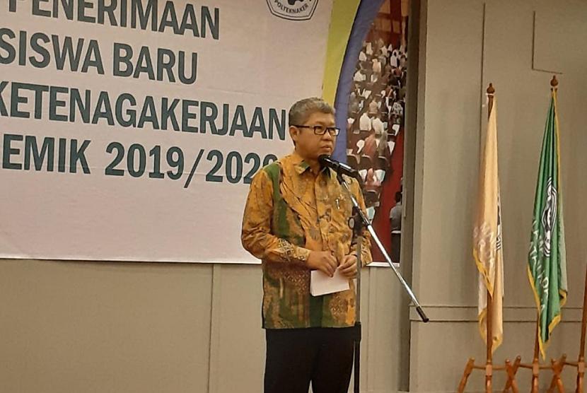 Sekjen Kemnaker Khairul Anwar.