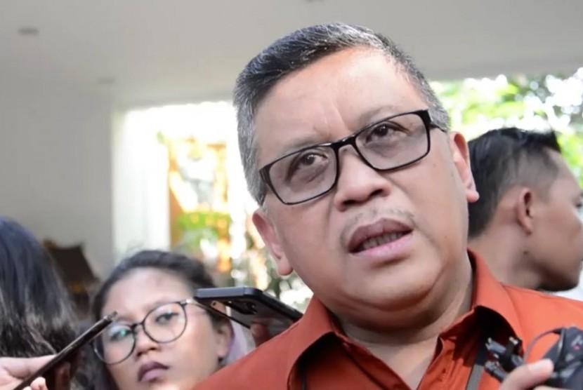 Sekjen Partai Demokrasi Indonesia Perjuangan (PDIP), Hasto Kristiyanto