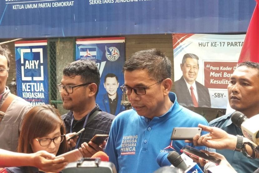 Sekretaris Jendral Partai Demokrat, Hinca Pandjaitan.