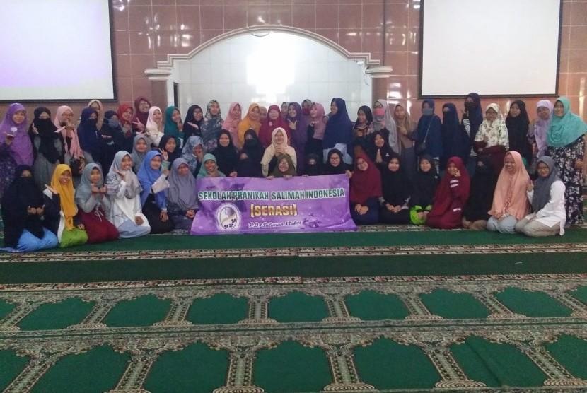 Sekolah Pranikah Salimah Indonesia (Serasi)  dengan tema Talents Mapping di Masjid Al A'raf, Klaten, Ahad kemarin.