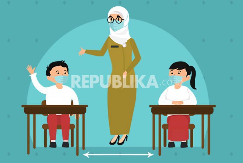 Sekolah Tatap Muka (ilustrasi)
